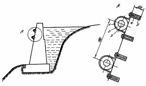 Схема прокладки кабеля по